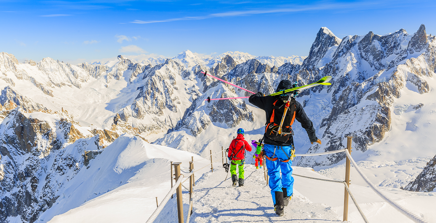Off-Piste and Freetouring in Chamonix