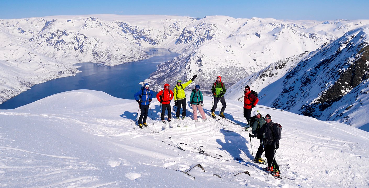 Ski Touring in The Alps of Finnmark