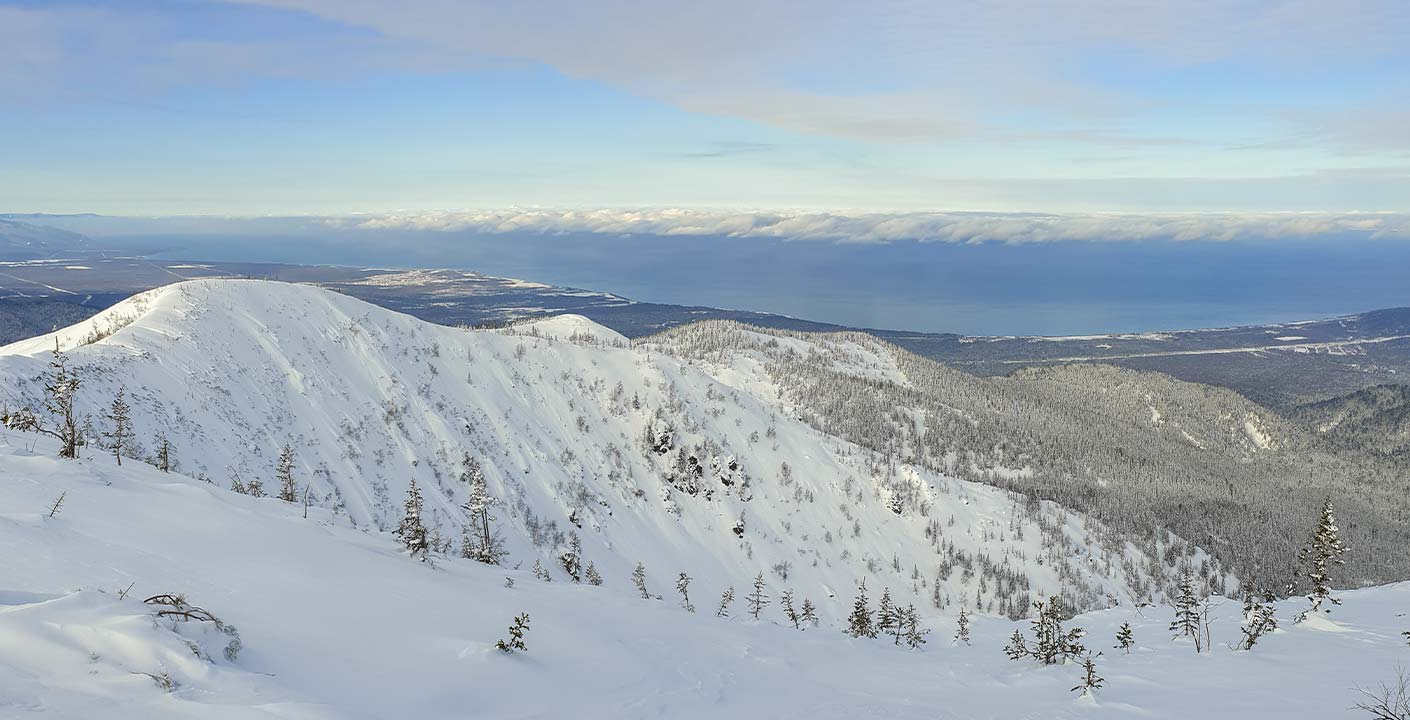 Ski Touring in Siberia, Lake Baïkal