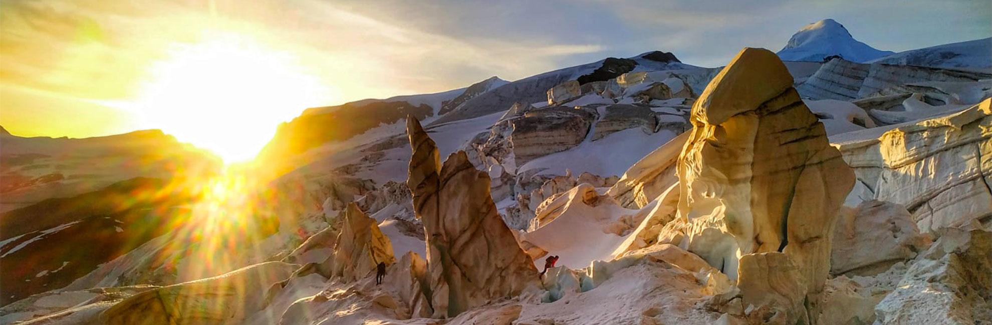 Glacier Sunrise