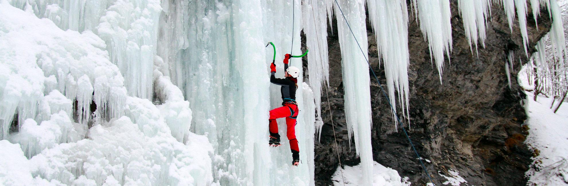 isklättring Kurs i Jämtland med guide